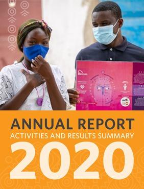 O Relatório Anual 2020 do UNFPA Angola, Actividades e Resultados.