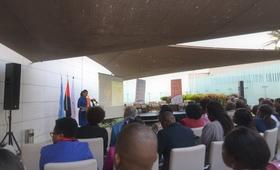 Abertura do Evento pela Representante do UNFPA Angola, Florbela Fernandes