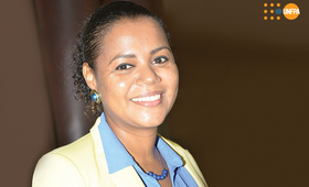 Eneida Fortes, OIC Chefe de Operações UNFPA Angola