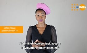 Angolan Celebrities Join Together on the World Day for Contraception and Prevention of Pregnancy in Adolescence