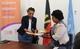 Da esquerda para a direita: Florbela Fernandes, Representante do UNFPA Angola e Reverenda Deolinda Teca – Secretária Geral do CICA